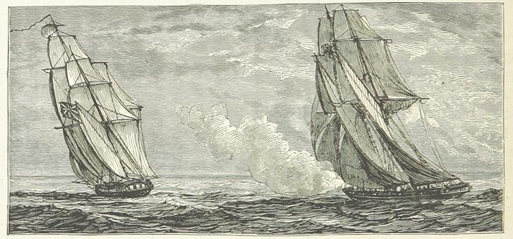 Barco pirata Burla Negra y Mornig Star